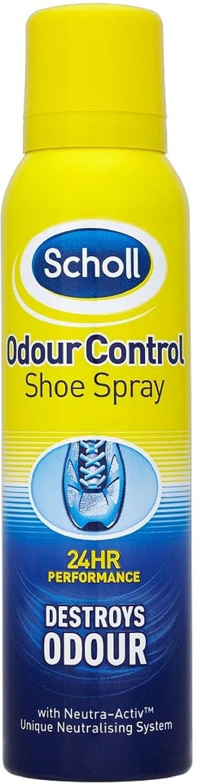 Scholl Odour Control Shoe Spray, 150 ml, Pack of 4 Reckitt Benckiser Group plc 2054823
