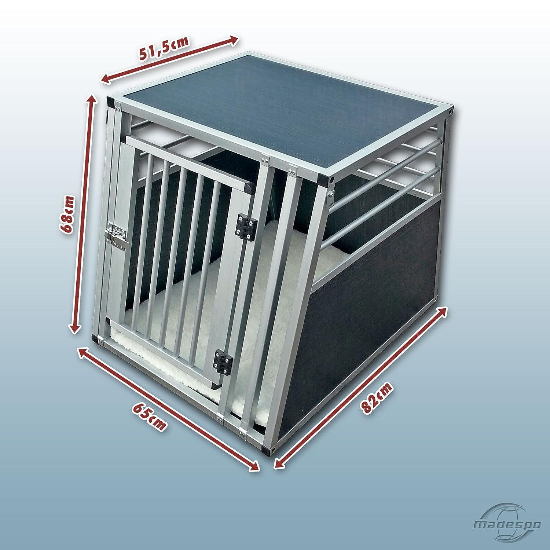 Hundebox / Alubox / Hundetransportbox / Autobox + Einlegematte Inbus ...