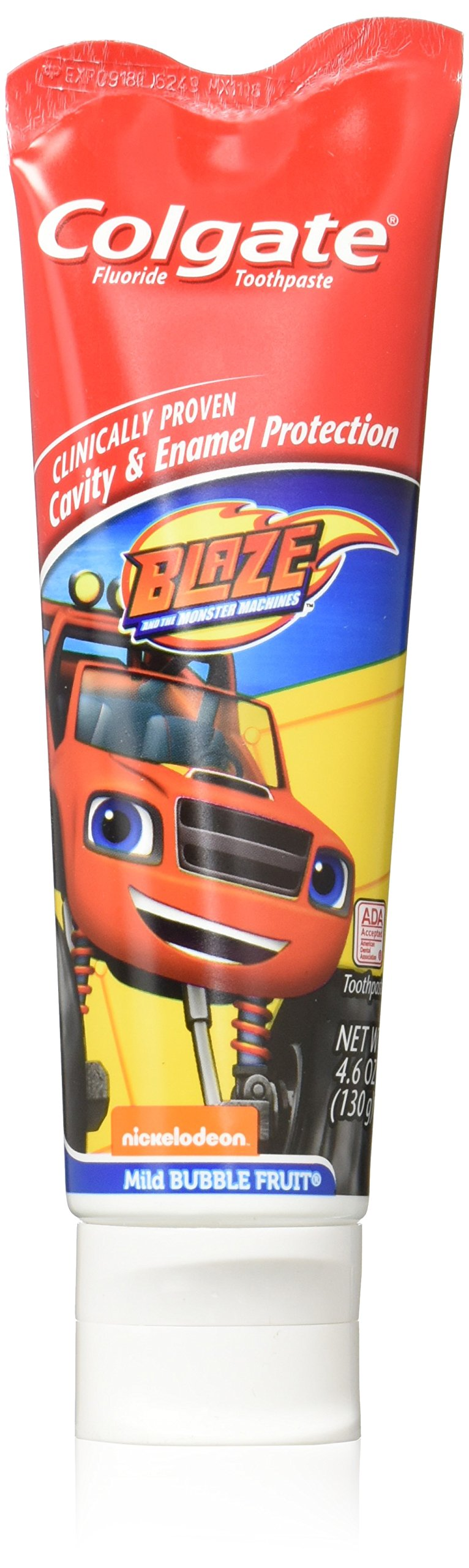 Colgate Kids Toothpaste, Blaze and The Monster Machines - 4.6 ounce (12 Pack)