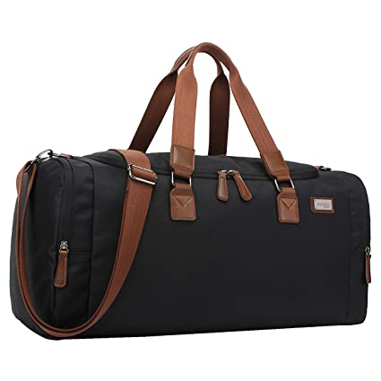 3bf8a41be4f9aa Asge Unisex Travel Bag Sports Holdall for Men Overnight Bags Gym Duffel Bag  Ladies Weekend Water Resistant Holdall Nylon Ripstop Luggage Bags:  Amazon.co.uk: ...