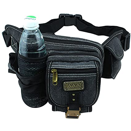 9ab7d58ae466 Amazon.com : Lerben Outdoor Hiking Travel Waist Pack Bum with Water ...