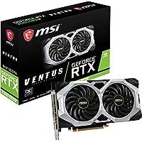 MSI GeForce RTX 2060 Super Ventus OC - Tarjeta gráfica (8 GB, GDDR6, 256 bit, 7680 x 4320 Pixeles, PCI Express x16 3.0)