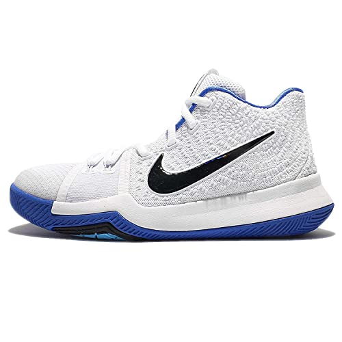 71587a1beec90c Nike Kyrie 3 Ep White Blue Basketball Shoes  Buy Online at Low Prices in  India - Amazon.in