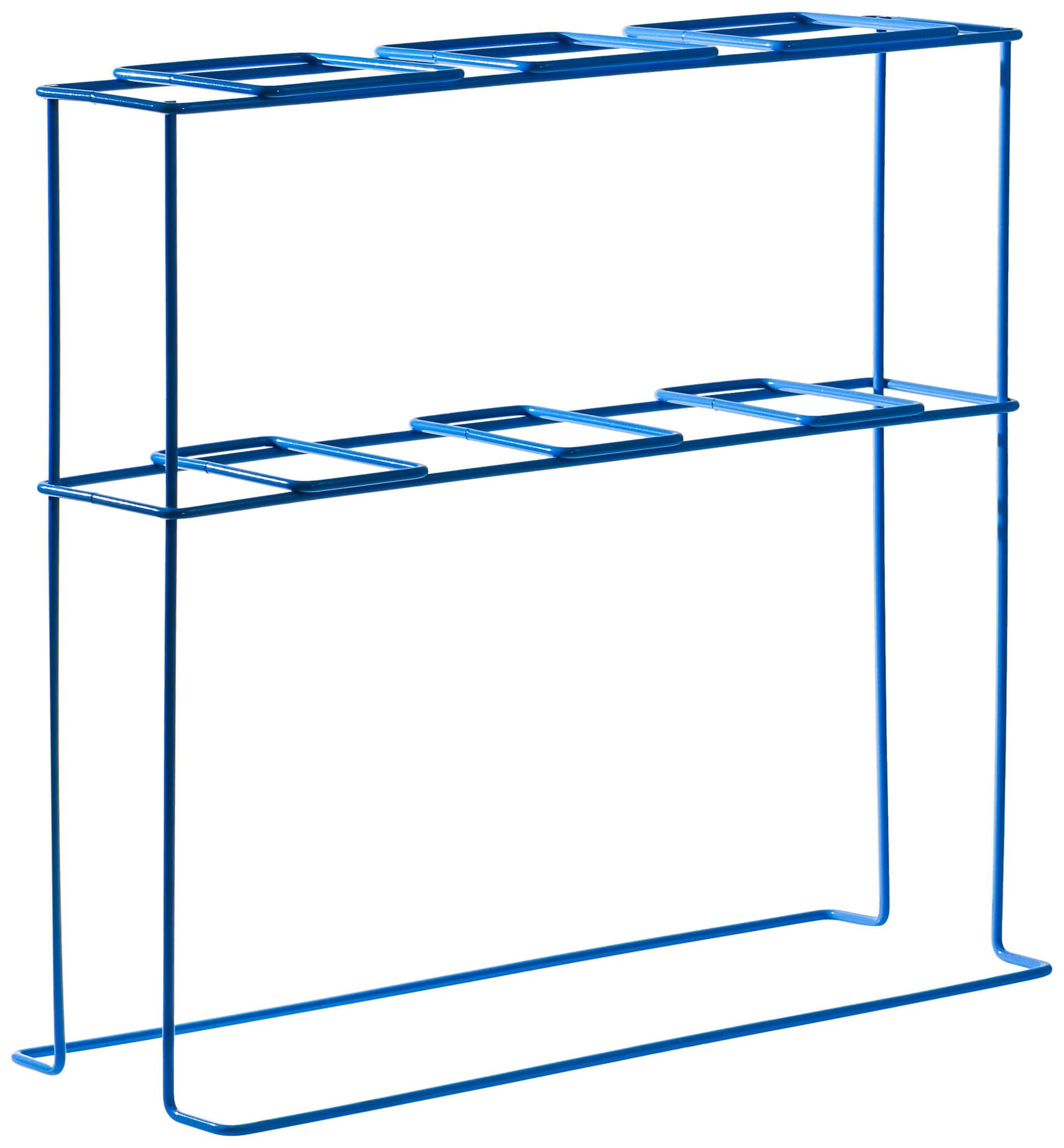 Bel-Art Poxygrid Imhoff Cone Rack; 3 Places, 17¹⁄₂ x 6³⁄₄ x 16 in. (F38993-0003)