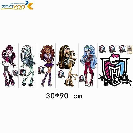 Amazon.com: ptk12 monster high wall art girls room home ...