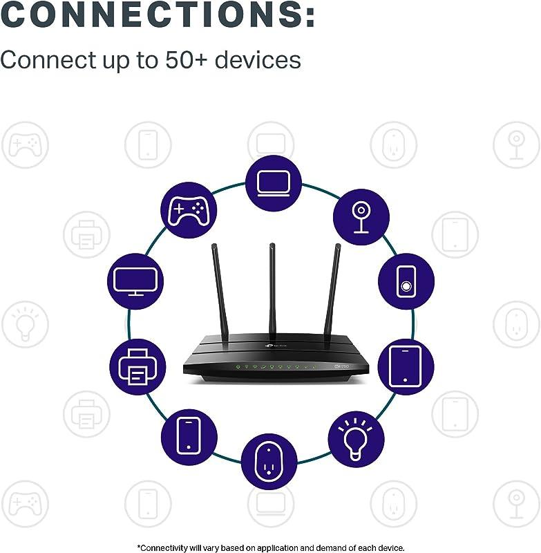 TP-Link AC1750 Smart WiFi Router (Archer A7) - 3