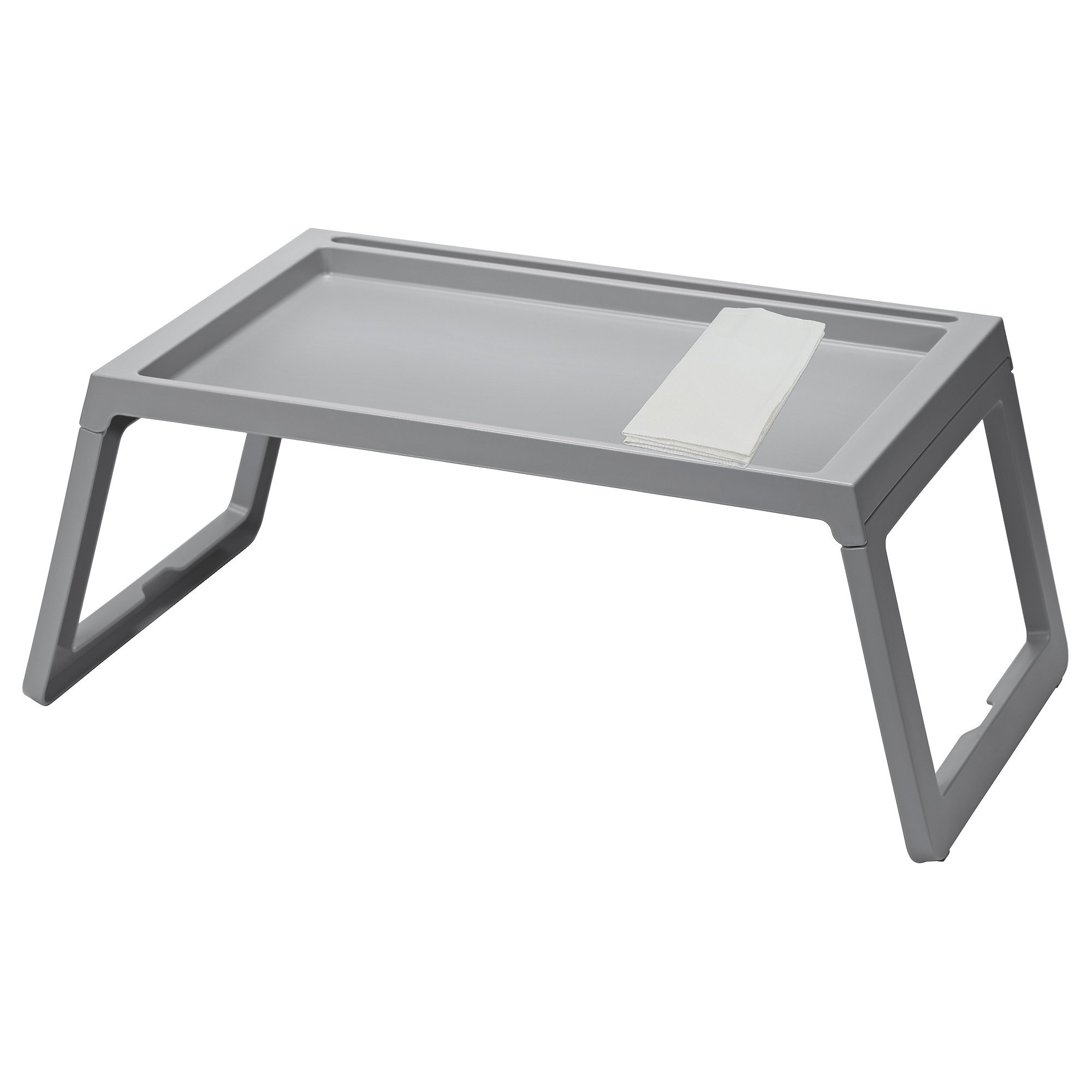 IKEA TV Lap Tray, Gray - Good For TV, Movies, Breakfast in Bed, Lunch, Brunch, Dinner by Klipsk