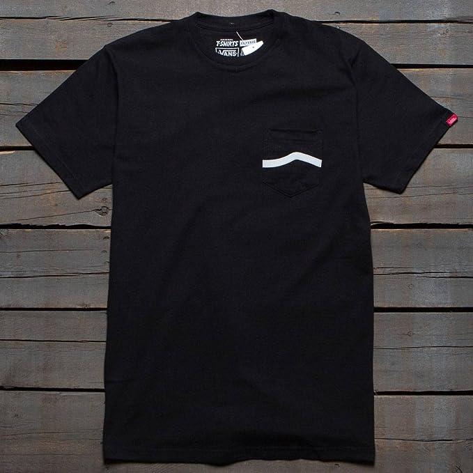Camiseta Vans – Side Stripe Pocket negro talla: XS (X-Small)
