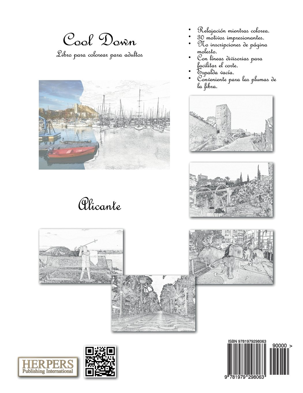 Amazon.com: Cool Down - Libro para colorear para adultos: Alicante (Spanish Edition) (9781979298063): York P. Herpers: Books