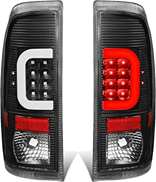 08-16 Ford F250-F550 DNA Motoring TL-F25008-LED-RD3D-BK-SM-G2 Pair Black Housing Smoked Lens Red 3D LED Tail Lights