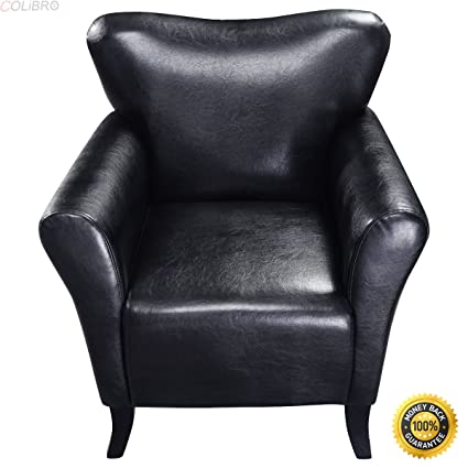 Awe Inspiring Amazon Com Colibrox New Modern Pu Leather Leisure Arm Caraccident5 Cool Chair Designs And Ideas Caraccident5Info