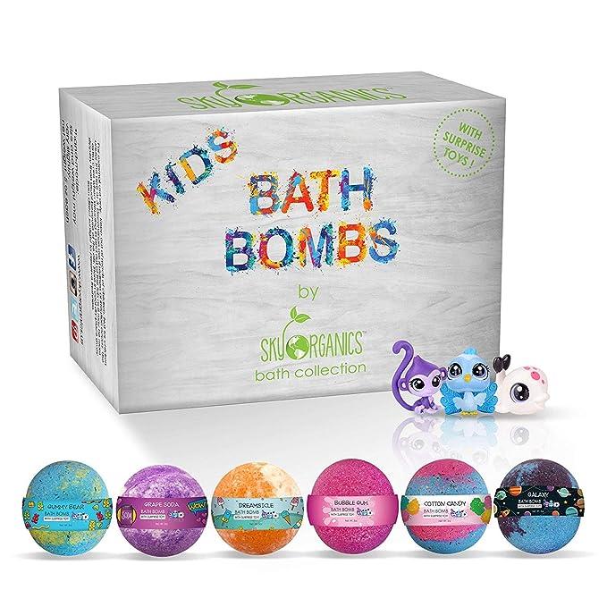 Sky Organics Kids Bath Bombs