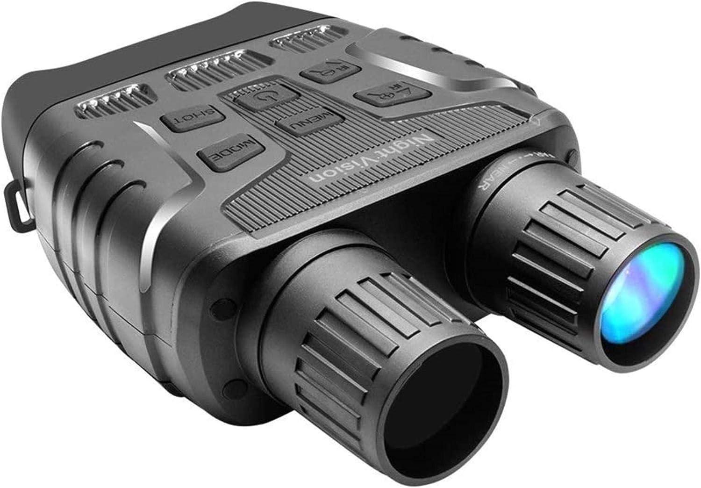 HZWLF Binoculares telescópicos Pantalla de 2,3 Pulgadas Zoom óptico Prismáticos de grabación de vídeo fotográfico Alta definición 1280x960 para observar Aves