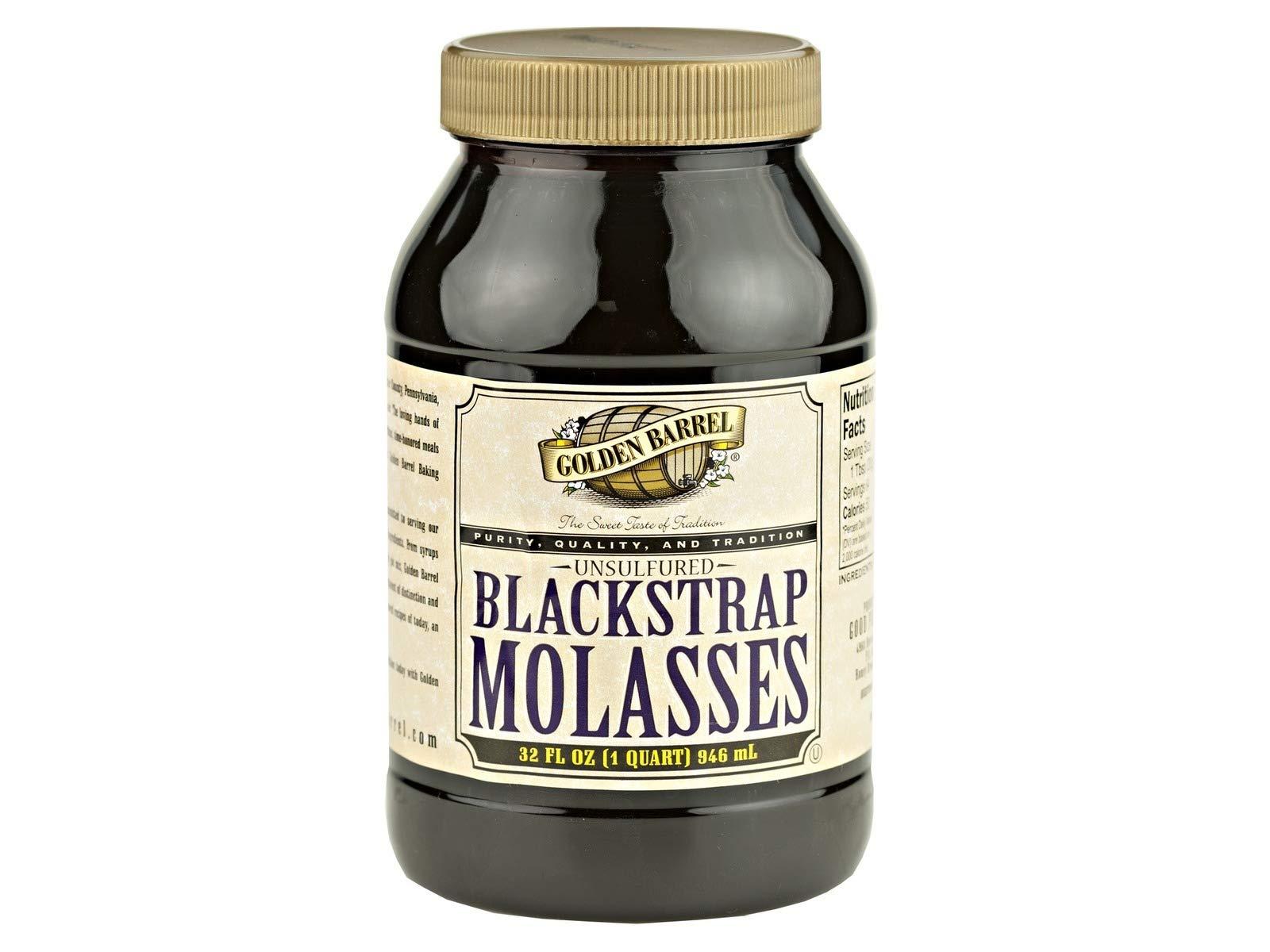Blackstrap Molasses Unsulfured Quart (2-1 Quart Bottles)
