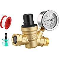 Deals on GOLDPAR RV Water Pressure Regulator Valve Brass Lead