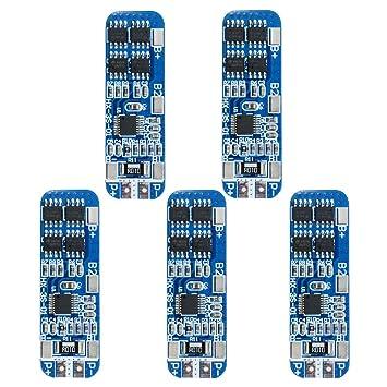 Amazon.com: diymore 5pcs 3S 12 V 10 A módulo de cargador de ...