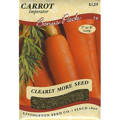 Carrot - Imperator : Vegetable Plants : Garden & Outdoor