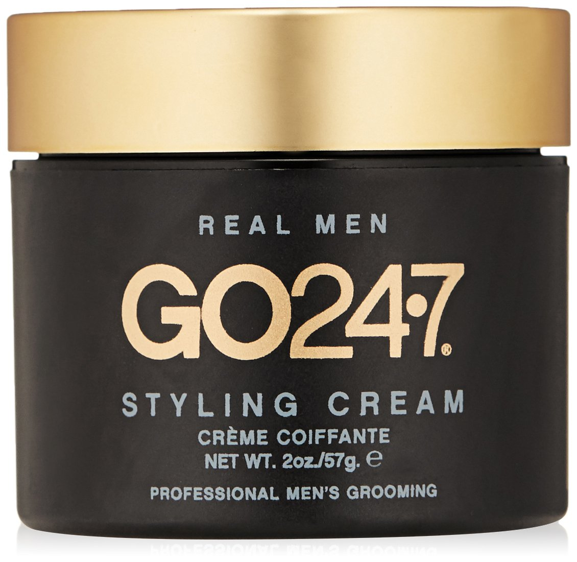 GO247 Real Men Styling Cream, 2 Oz by GO247