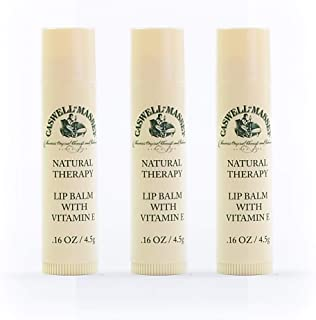 product image for Caswell-Massey Natural Therapy Lip Balm Box, 0.16 Ounce (Set of 3)