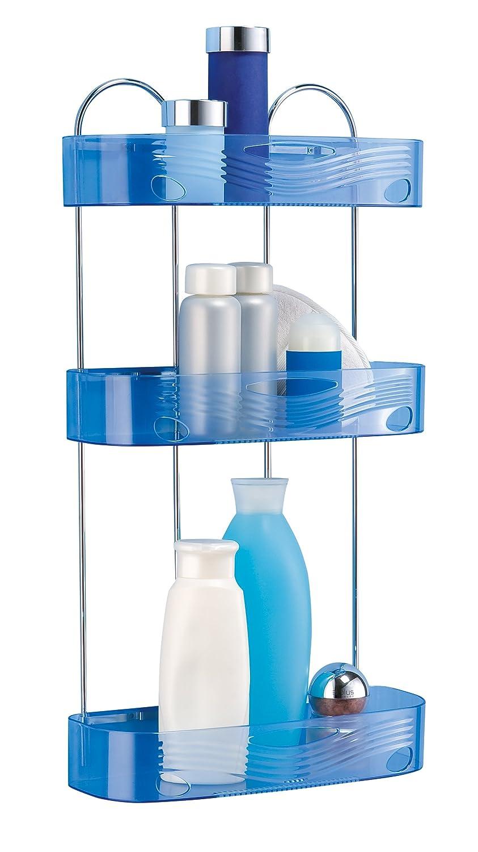 toyma 0614/46 - Estante metá lico Triple, Color Azul traslucido Talleres Toyma