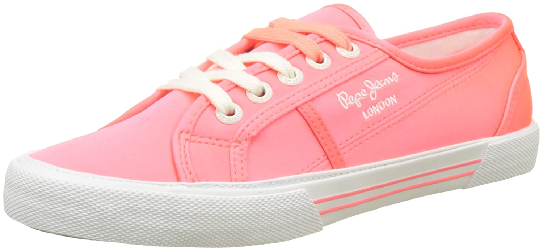 Pepe Rose Jeans Aberlady Satin, B01N3ZAF4C Sneakers Basses Femme, Pepe Rose Rose (Hot Pink) 1b14682 - shopssong.space