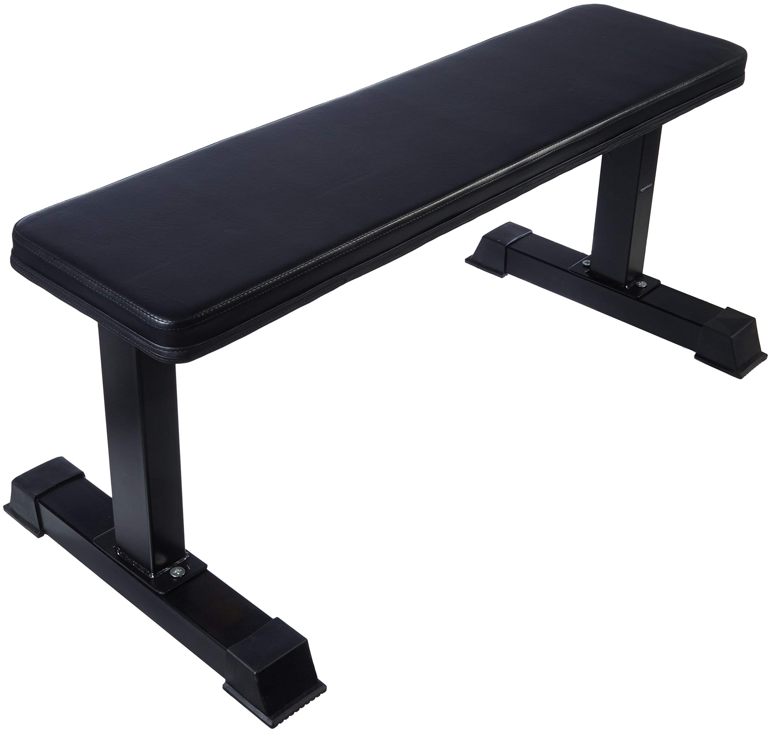 AmazonBasics Flat Weight Bench (Renewed) by AmazonBasics