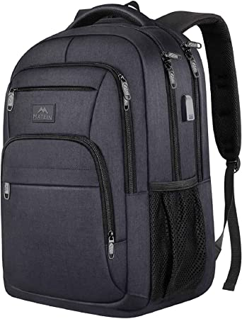 Business Travel Backpack with USB Charging Port Fits for 15.6 inch Laptop /& Notebook Slim Laptop Backpack