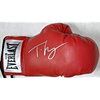 $310 » Tyson Fury Signed Autographed Right Red Boxing Glove Beckett Gypsy King - Beckett Authentication - Autographed Boxing Gloves