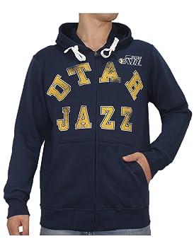 NBA - Utah Jazz Athletic chaqueta con cremallera Sudadera con capucha/L Azul Oscuro: Amazon.es: Deportes y aire libre