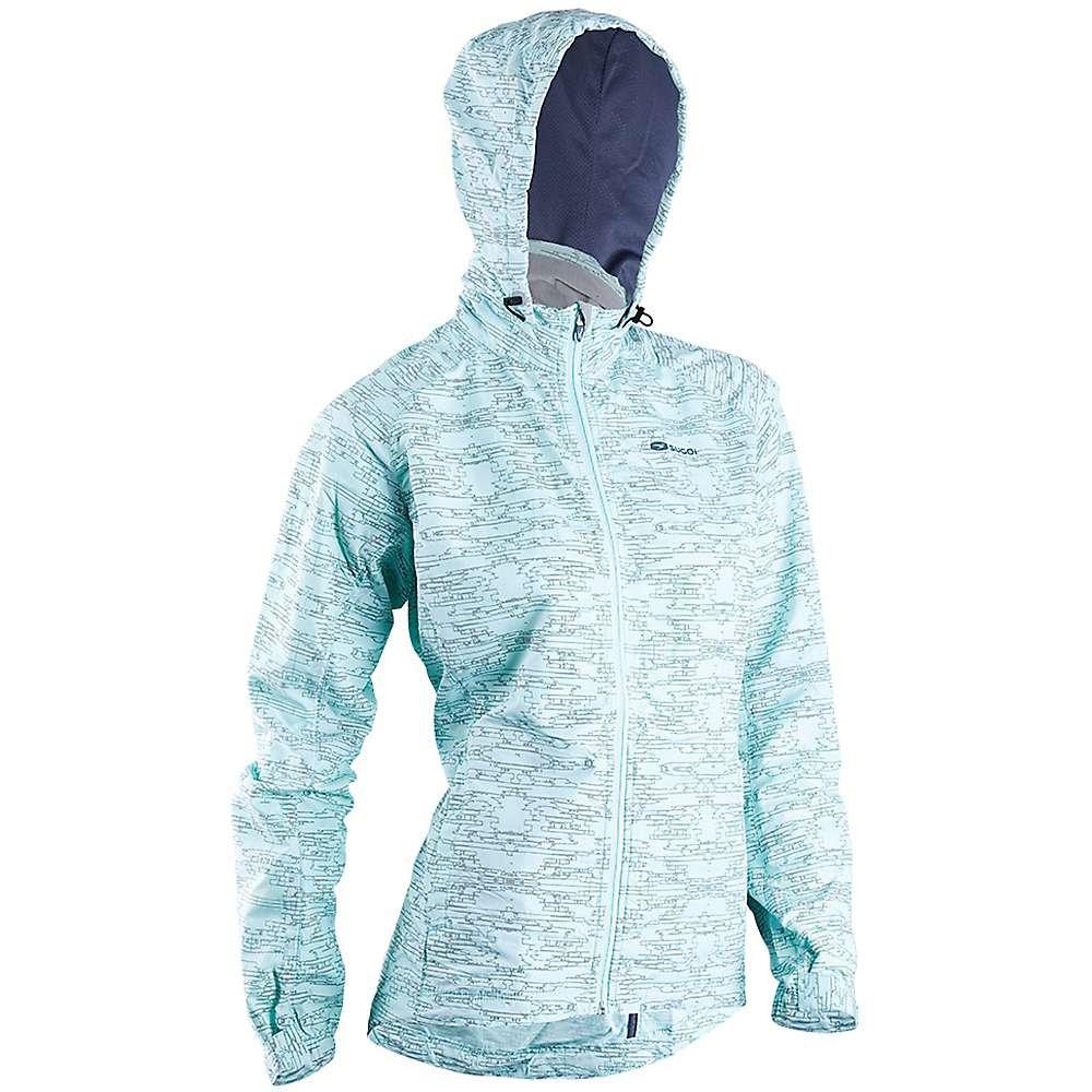 Sugoi Women's Zap Run Jacket,  Ice Blue, X-Small