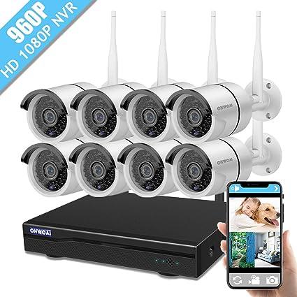 Best Ip Security Cameras 2019 Amazon.: 【2019 New】 Wireless Security Camera System, OHWOAI