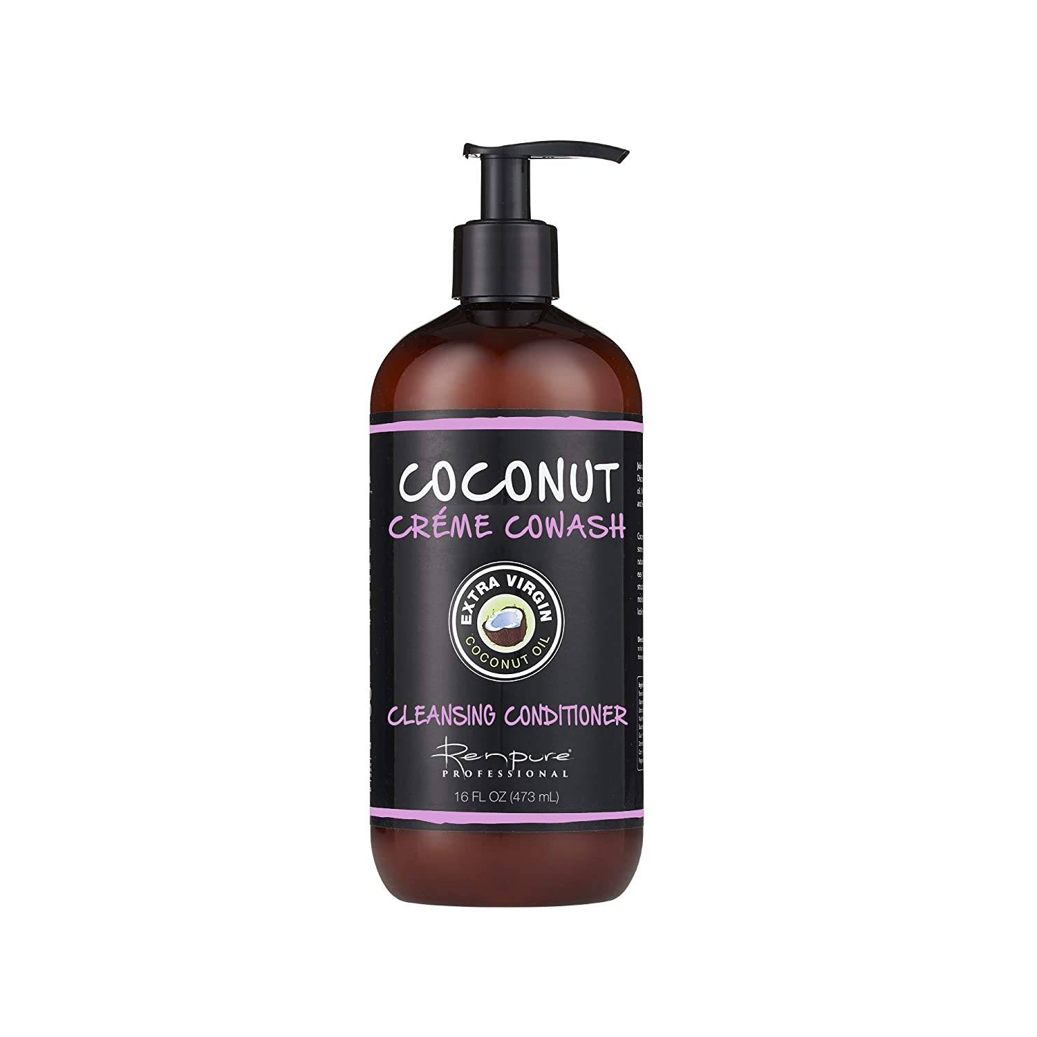Renpure Coconut Creme Cowash Cleansing Conditioner, 16 Ounces