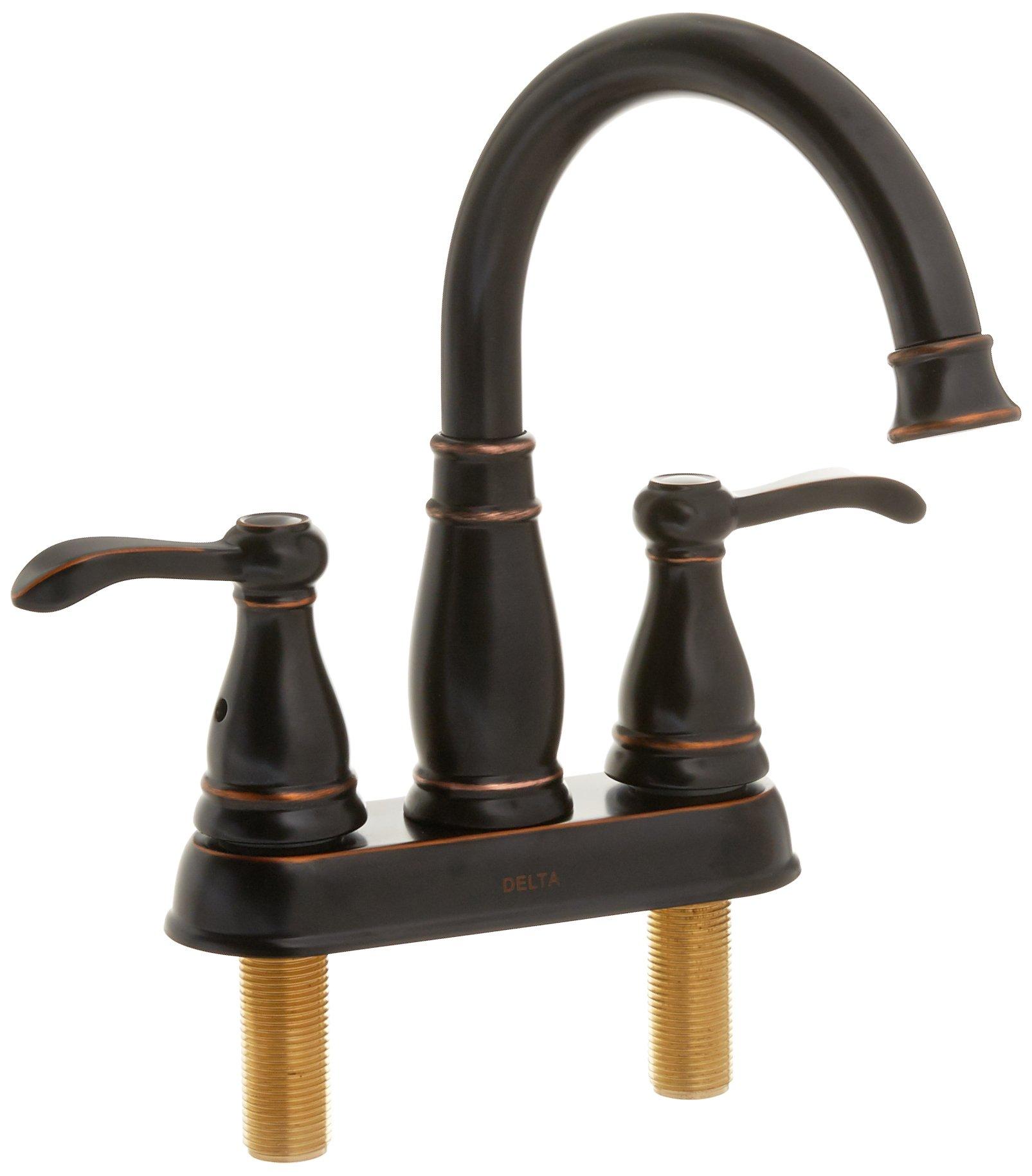 Delta Faucet 25984LF-OB-ECO 2 Hand Lav Faucet, Bronze by DELTA FAUCET