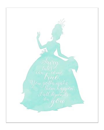 Amazoncom Summit Designs Tiana Disney Princess Inspirational Quote
