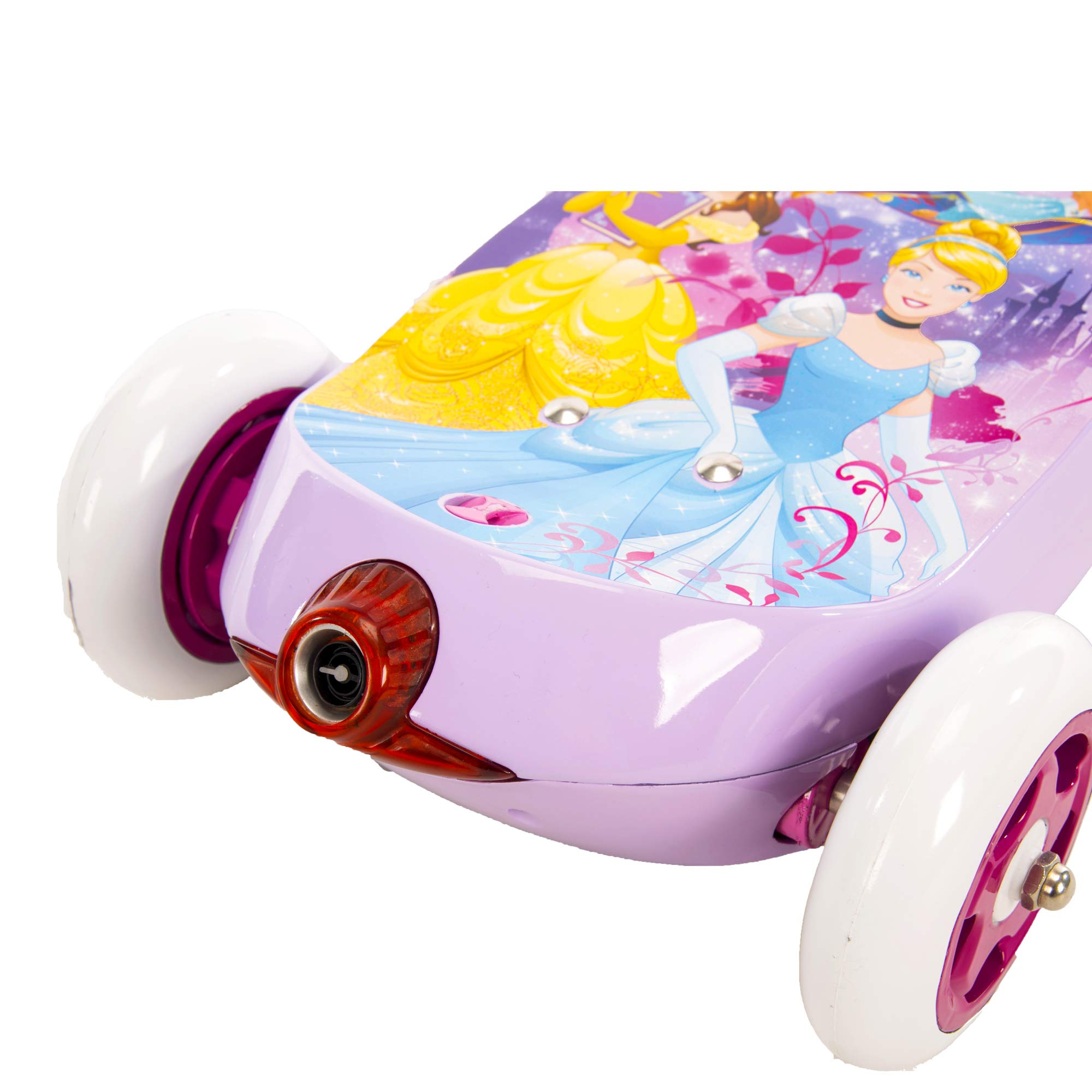 Huffy Disney Princess Girls' 6V Electric 3-Wheel Bubble Scooter by Huffy (Image #2)