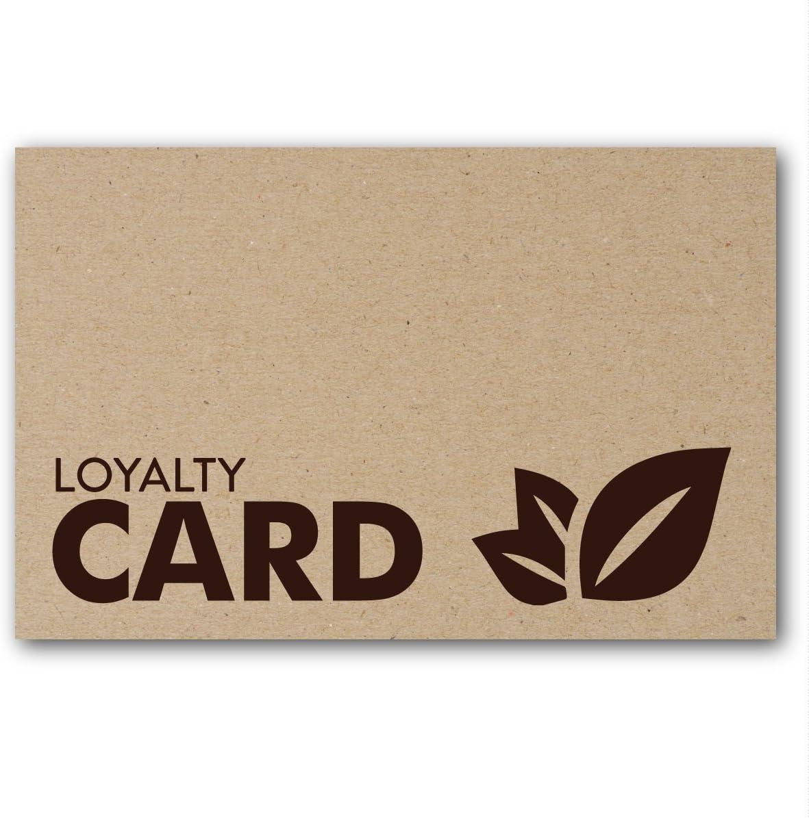 Rustic Kraft Loyalty Reward Cards Hair Beauty Salon Parlour Spa Massage (18)