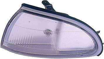 Depo 333-1418L-AS Jeep Wrangler Driver Side Replacement Side Marker Lamp Assembly