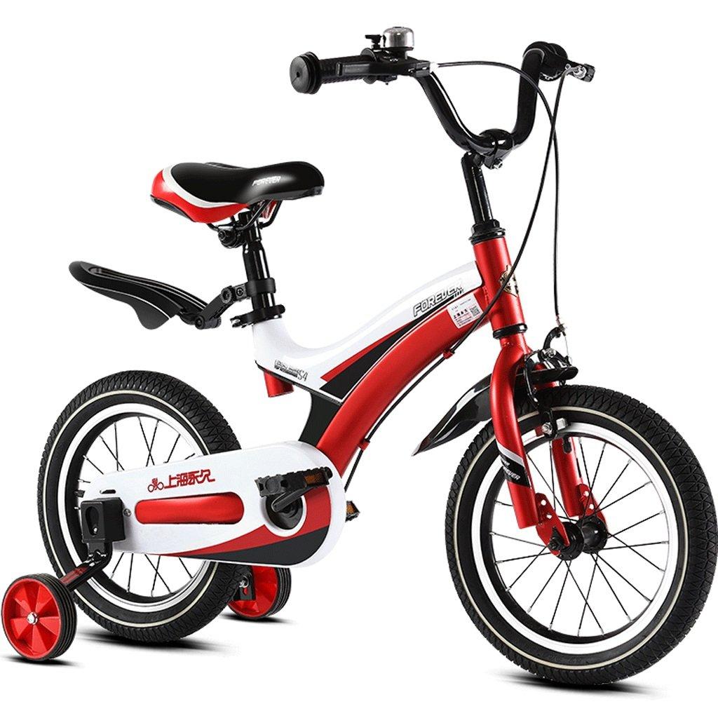 子供の自転車2-12歳の赤ん坊の子供のペダル自転車の少年の少女の赤ちゃんの運送 (色 : 赤, サイズ さいず : 12インチ) B07D4FGQ24 12インチ|赤 赤 12インチ