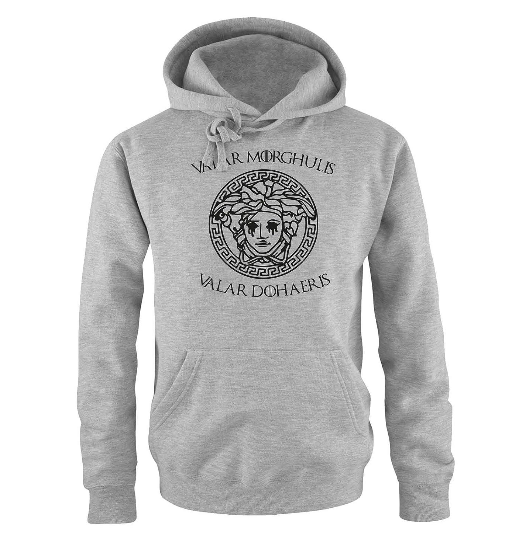 Valar Morghulis//Dohaeris II Print-Pulli K/ängurutasche Herren Hoodie Just Style It Kapuze Langarm