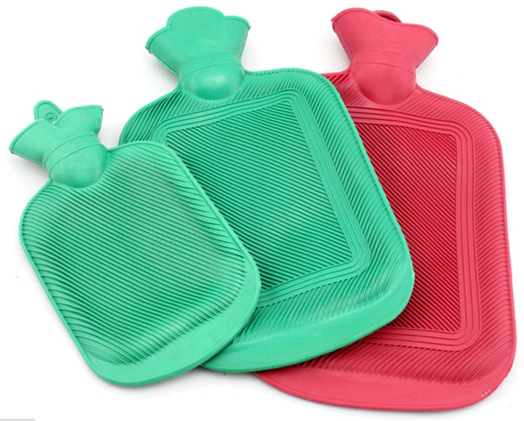 Magik Rubber Hot Water Bottle Bag Warm Relaxing Heat / Cold Therapy 670 ML ~ 1800 ML (1300 ML)