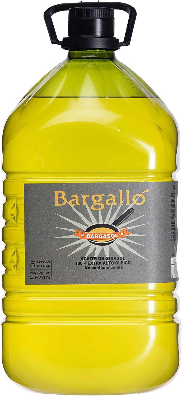Garrafa 5l Aceite Girasol Alto Oleico Olis Bargalló | Origen España