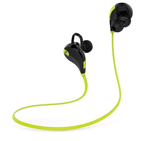SoundPEATS Qy7 - Auriculares Bluetooth Inalámbricos 4.1, ultra ligeros, función manos libres para hacer