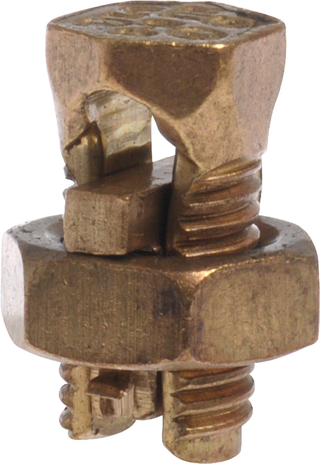 The Hillman Group 50326  Number 10 Strand Copper Split Bolt, 4-Pack