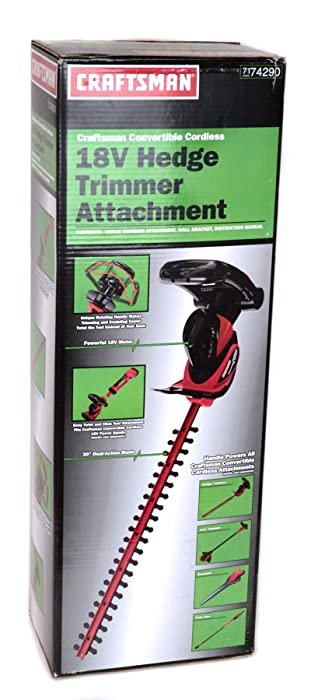 Craftsman #74290 18v Hedge Trimmer Attachment