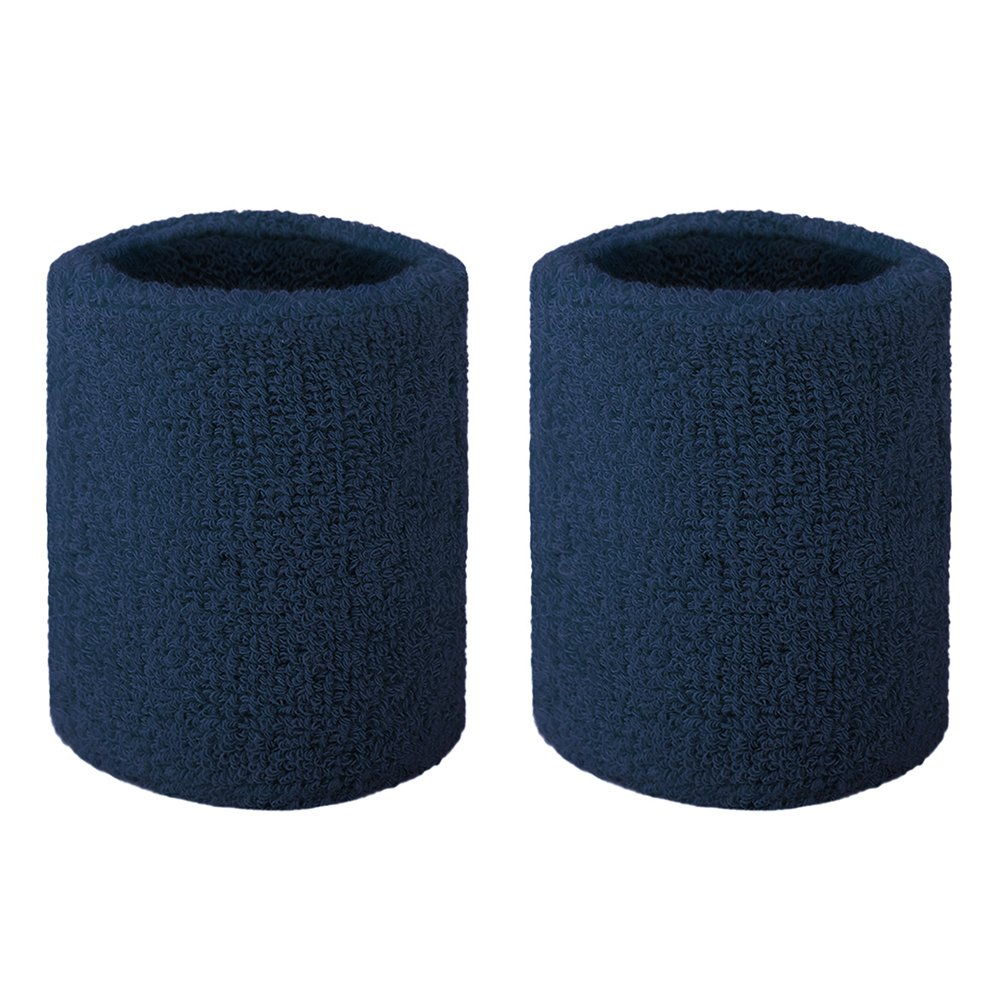 GOGO Terry Cloth Wristband Wrist Sweatband