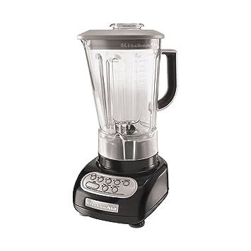amazon com kitchenaid ksb560ob onyx black 5 speed blender with free rh amazon com