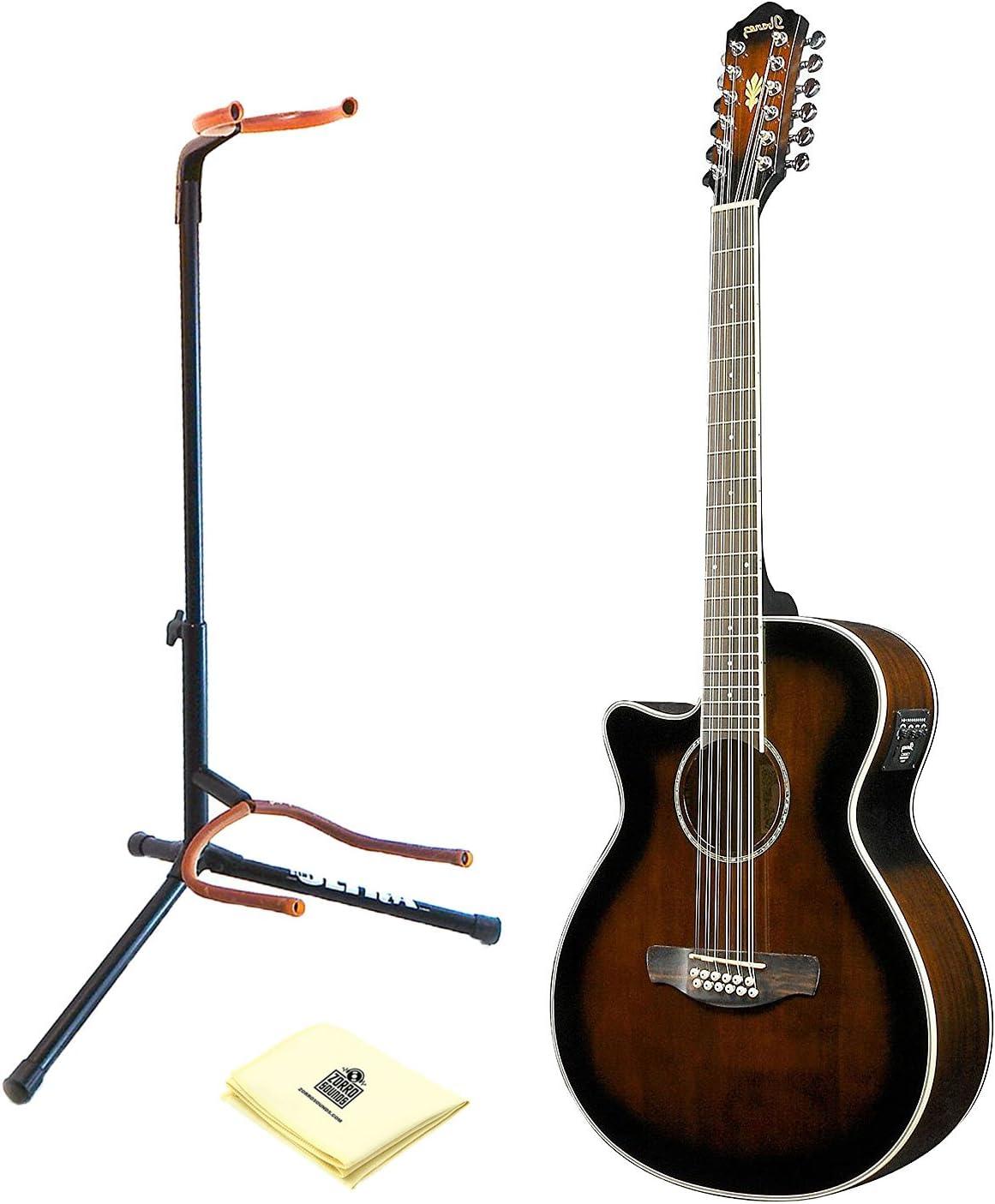 Ibanez aeg1812iidvs 12-string Electroacústica guitarra oscuro ...