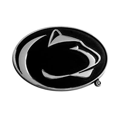"FANMATS NCAA Penn State Nittany Lions Chrome Team Emblem , 2.2""x3.2"" - 14881: Automotive"