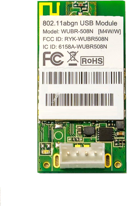 U.FL + 4-pin wafer //802.11a//b//g//n 2x2 MIMO SparkLAN WUBR-508N Ralink RT5572 U.FL + 4-pin wafer //USB Module M4W