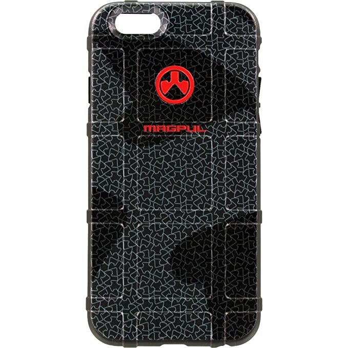 best service b86f2 553f0 EGO Tactical Limited Edition Design UV-Printed onto a MAG849 Field Case  Compatible with Apple iPhone 7 + Plus, 8 + Plus, 7+, 8+ Matrix Black Logo
